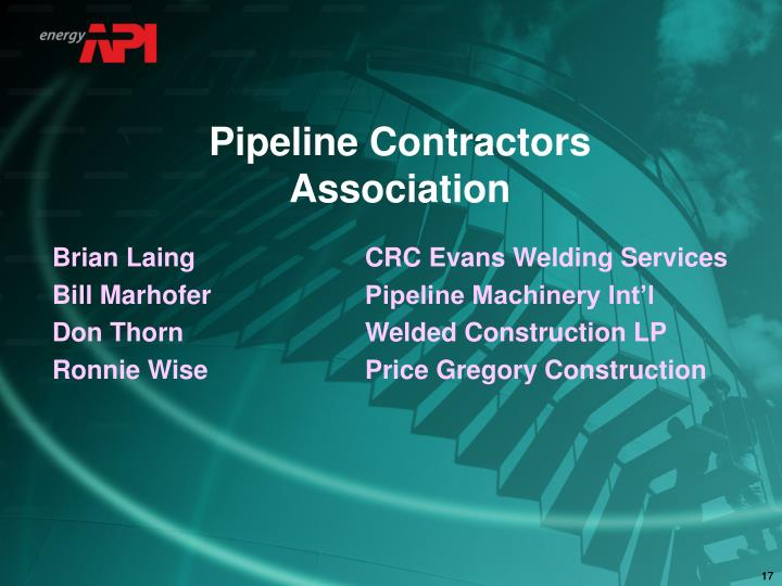Pipeline Contractors Association