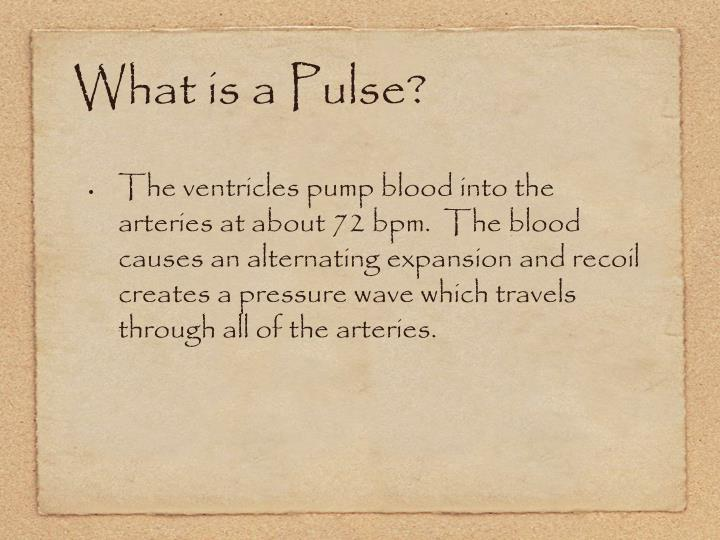 What is a Pulse?