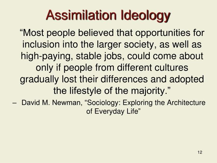 Assimilation Ideology