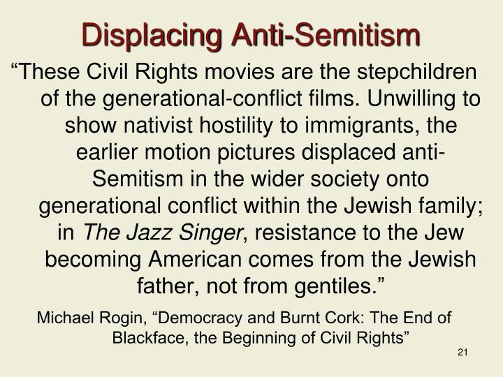 Displacing Anti-Semitism