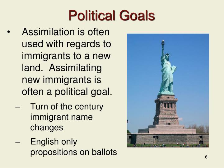 Political Goals