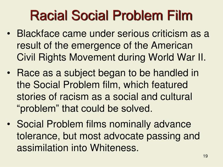 Racial Social Problem Film