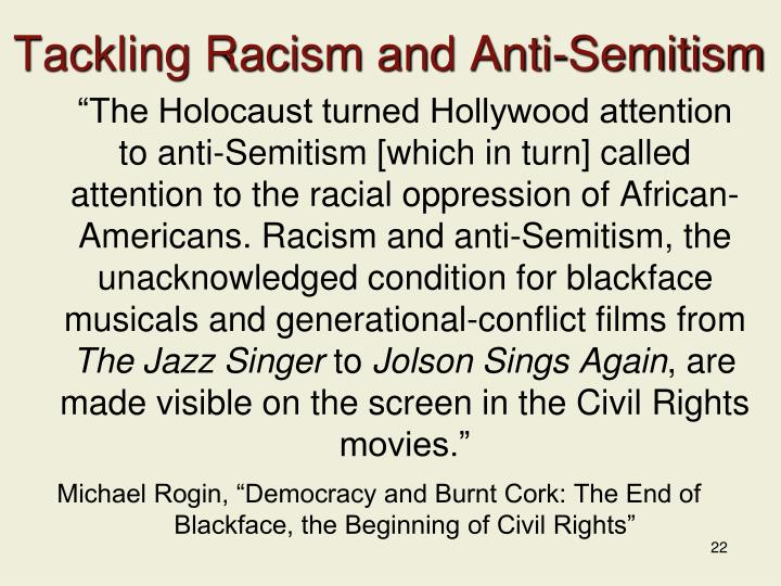Tackling Racism and Anti-Semitism