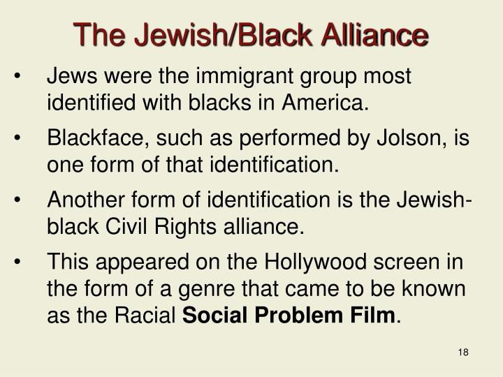 The Jewish/Black Alliance