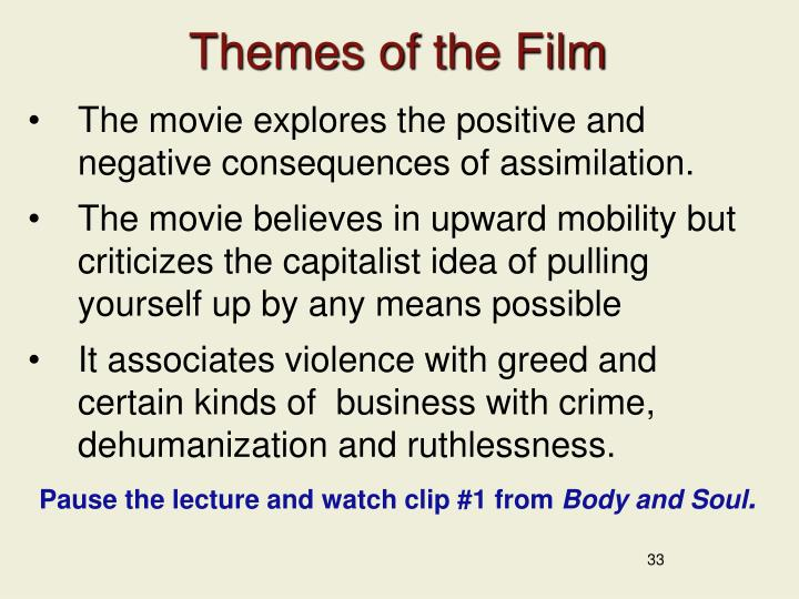 Themes of the Film