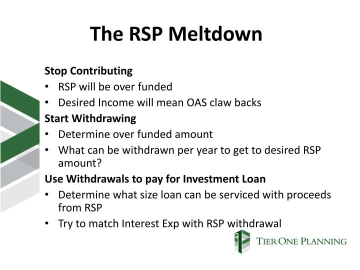 The RSP Meltdown