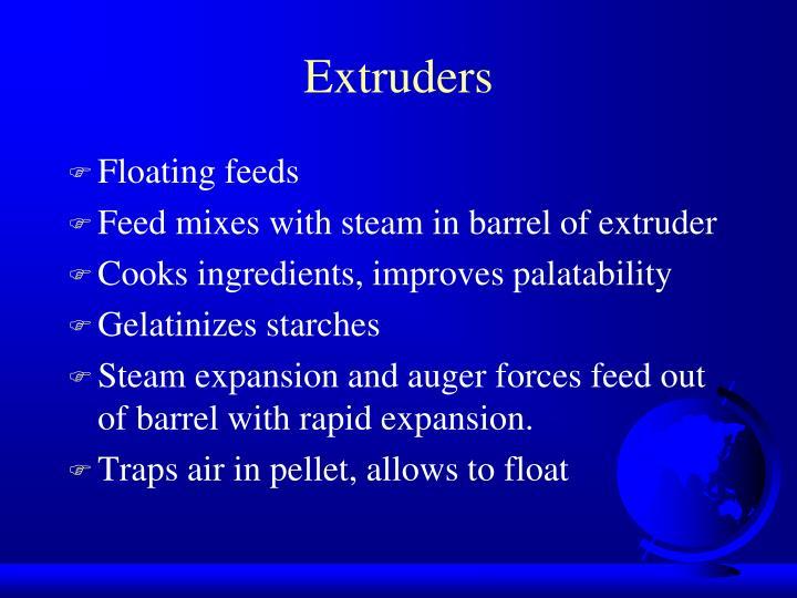 Extruders