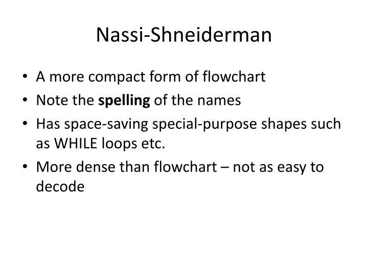 Nassi-Shneiderman
