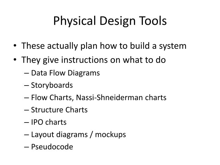 Physical Design Tools