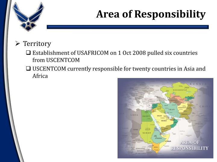 Area of Responsibility