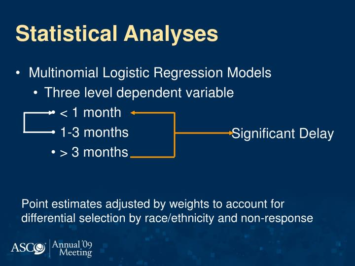 Statistical Analyses