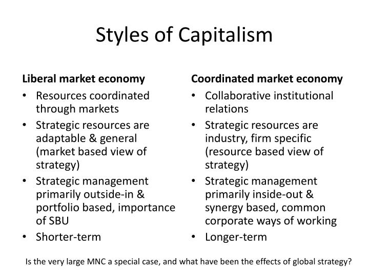 Styles of Capitalism
