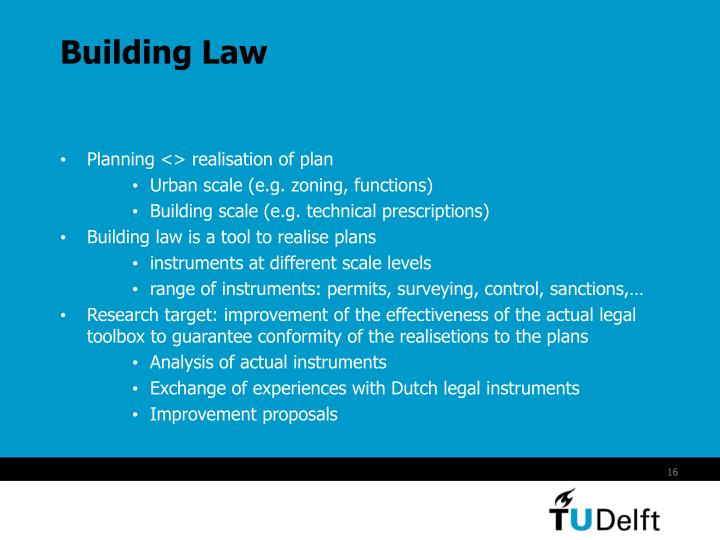 Building Law