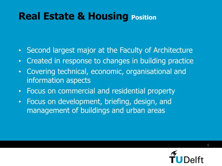 Real Estate & Housing