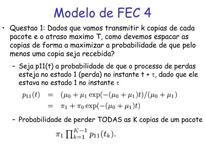 Modelo de FEC 4