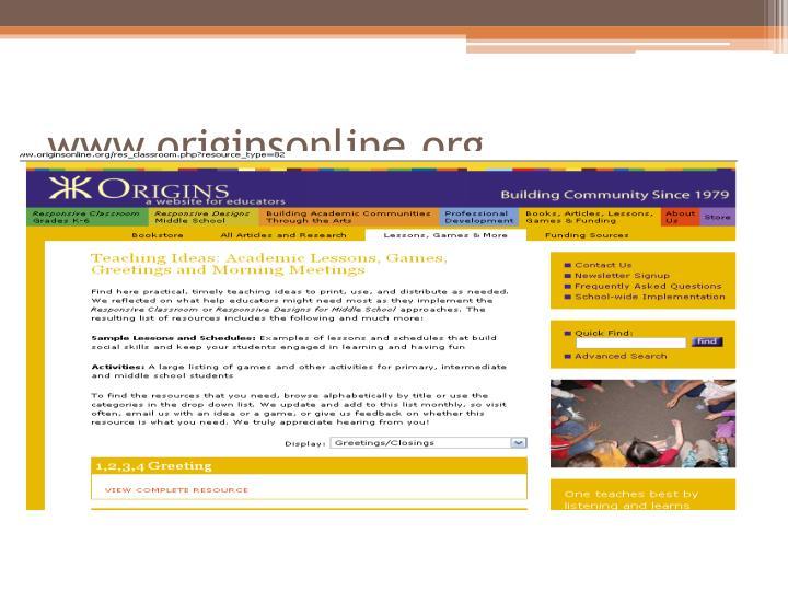 www.originsonline.org