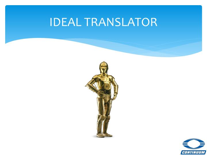 IDEAL TRANSLATOR