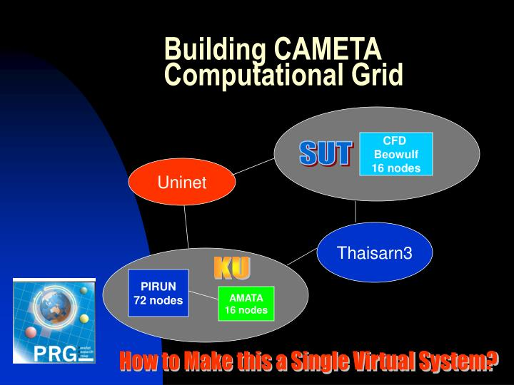 Building CAMETA Computational Grid