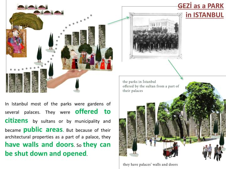 GEZİ as a PARK