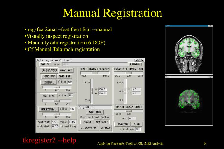 Manual Registration