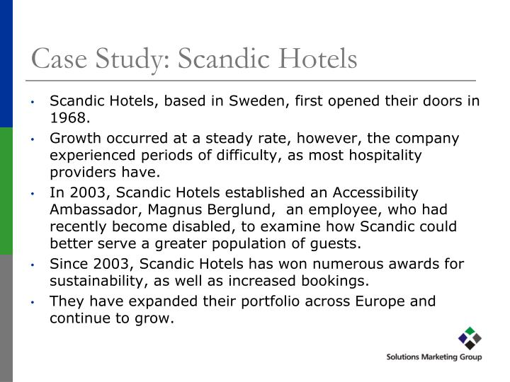 Case Study: Scandic Hotels
