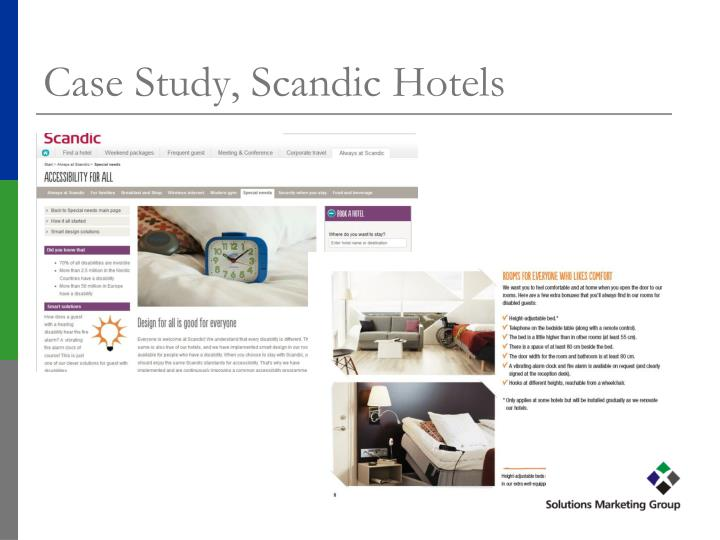 Case Study, Scandic Hotels