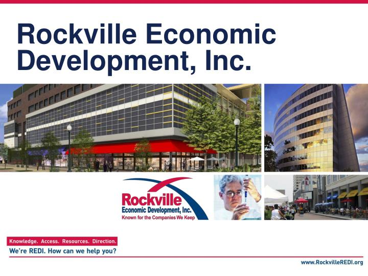Rockville economic development inc