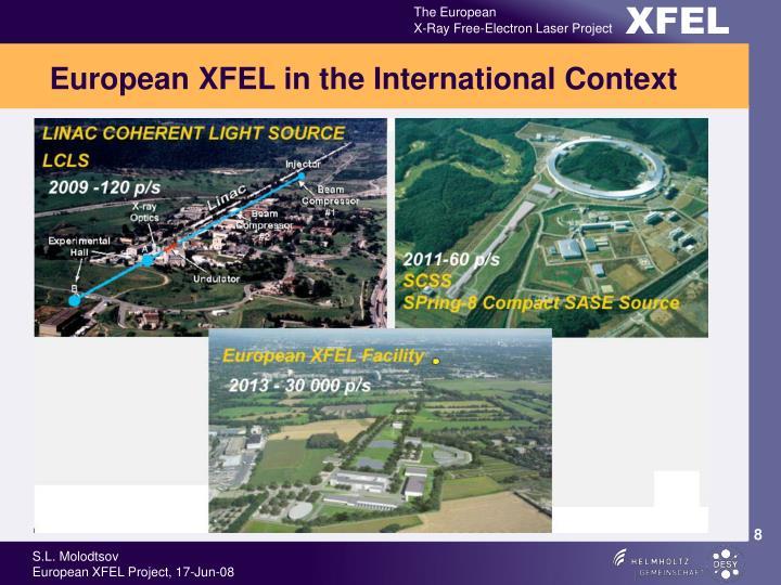 European XFEL in the International Context