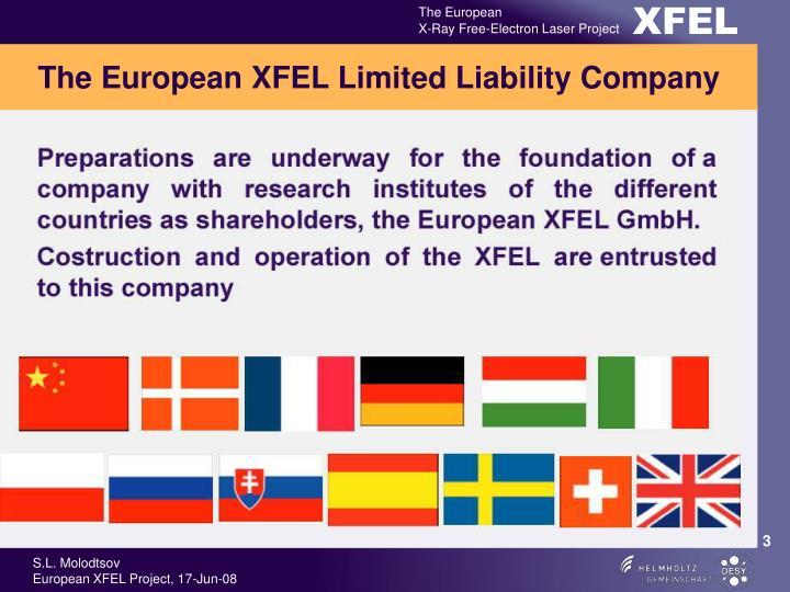 The European XFEL