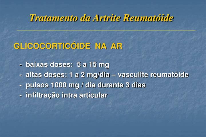Tratamento da Artrite Reumatóide