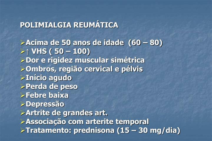 POLIMIALGIA REUMÁTICA
