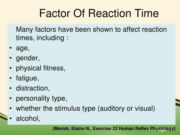 exercise 22 human reflex physiology Some reflexes and how they are tested, and basic sensory physiology  22 1  the subject should sit on the lab bench with legs hanging freely tap the patellar.