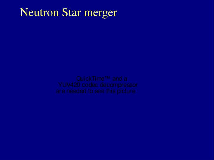 Neutron Star merger