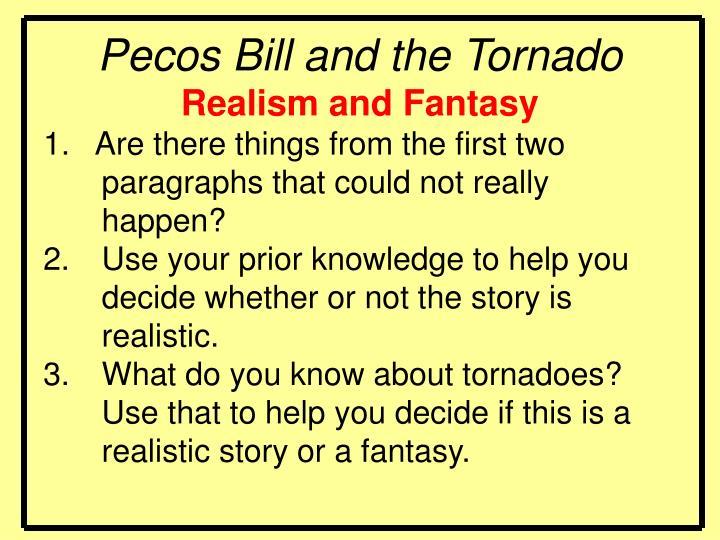 Pecos Bill and the Tornado