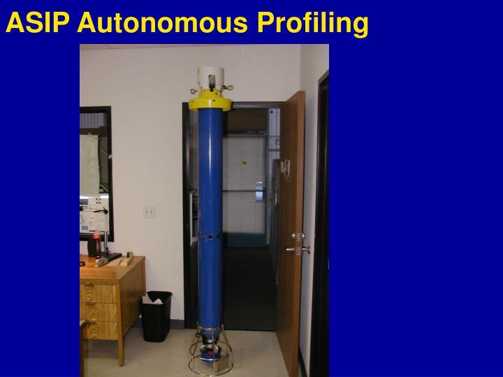 ASIP Autonomous Profiling