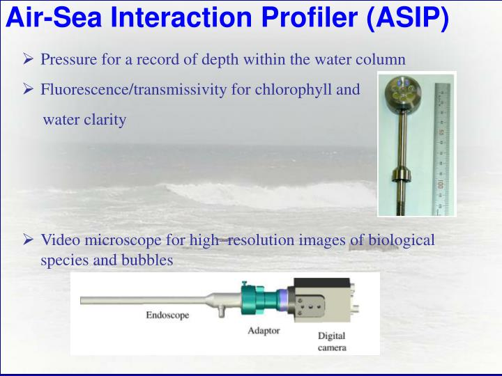 Air-Sea Interaction Profiler (ASIP)
