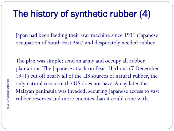 The history of synthetic rubber (4)