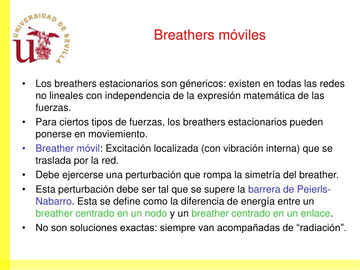 Breathers móviles