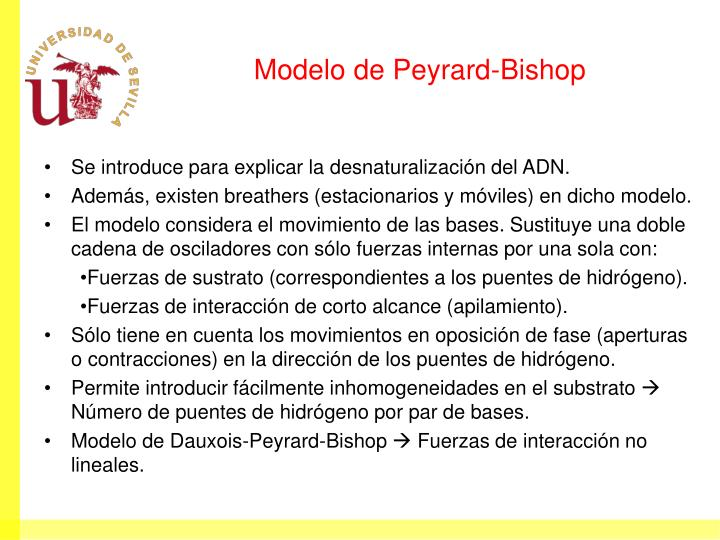 Modelo de Peyrard-Bishop