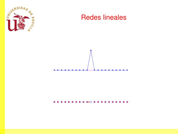 Redes lineales