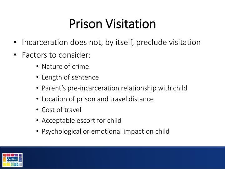 Prison Visitation