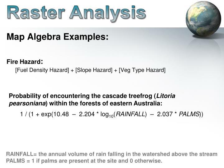Raster Analysis