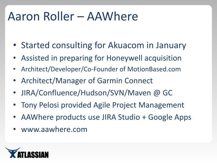 Aaron Roller – AAWhere