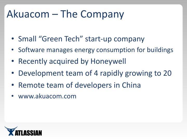 Akuacom – The Company