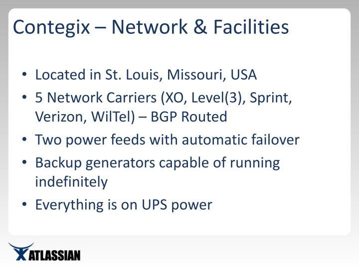 Contegix – Network & Facilities