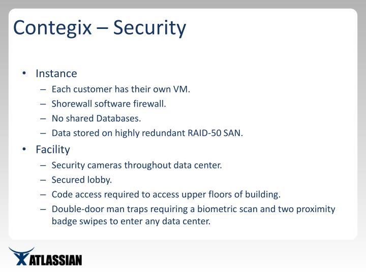 Contegix – Security