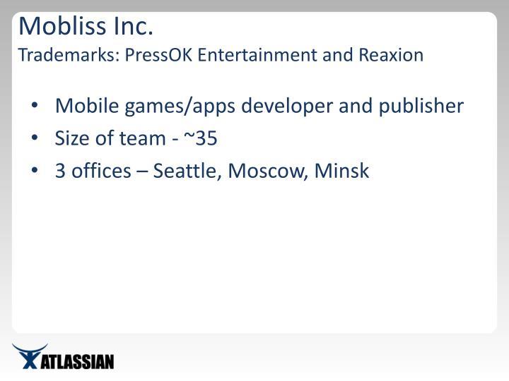 Mobliss Inc.
