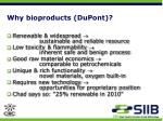 why bioproducts dupont