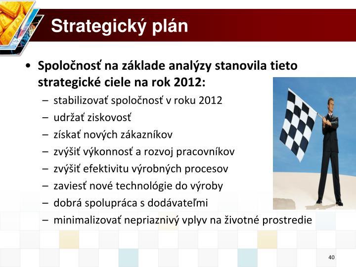 Strategický plán