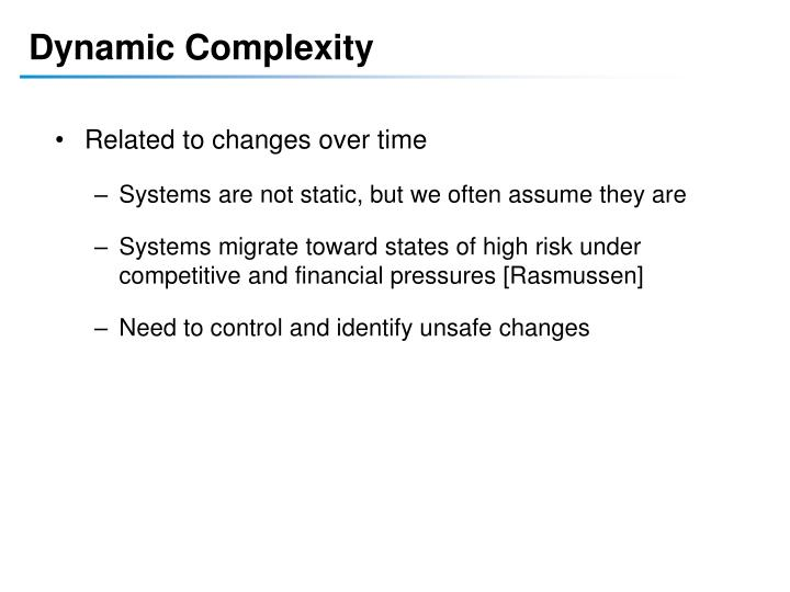 Dynamic Complexity